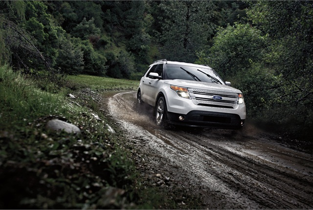 Photo of Ford Explorer courtesy of Ford.