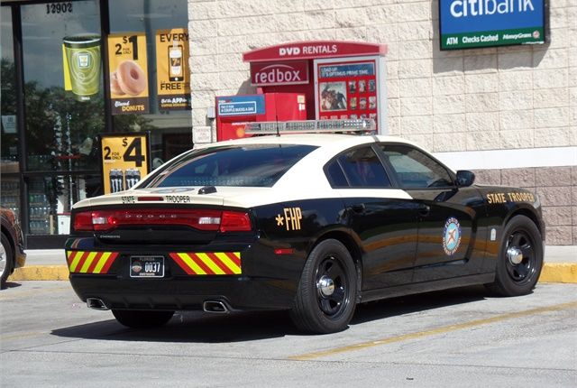 FHPu0027s New Patrol Car Is Painted All Black, Trading In Bright Colored  Graphics And A