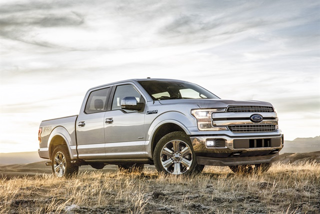 Photo of 2018 F-150 courtesy of Ford.