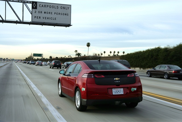 Photo of 2012 Chevrolet Volt courtesy of General Motors.