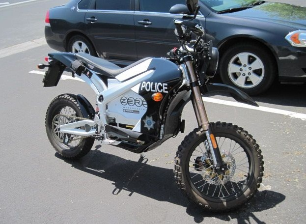 lapd now using new zero mmx stealth electric motorcycle
