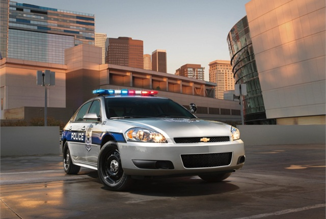 Photo of Chevrolet Caprice Police Patrol Vehicle courtesy of General Motors.