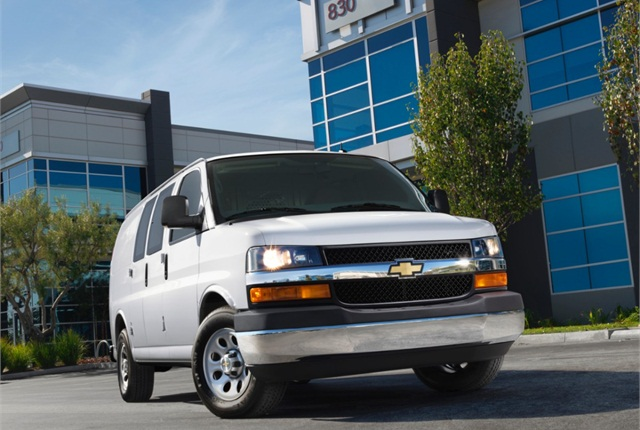 Photo of 2014 Chevrolet Express courtesy of General Motors.