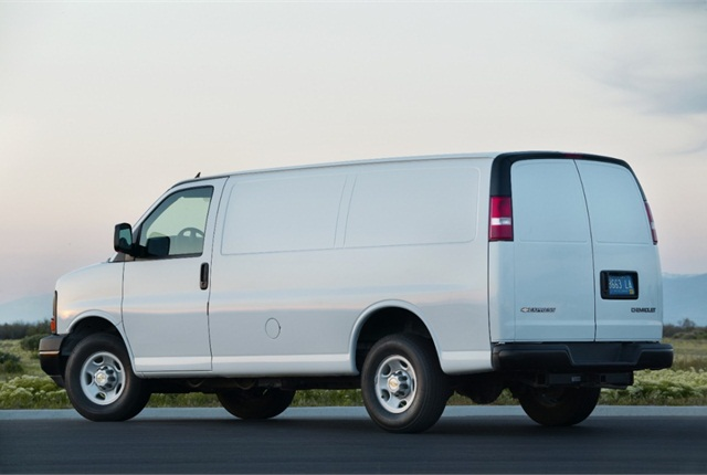 Photo of Chevrolet Express courtesy of General Motors.