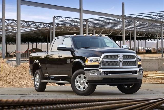 The 2014 Ram 2500 Heavy Duty pickup truck. Photo courtesy Chrysler.