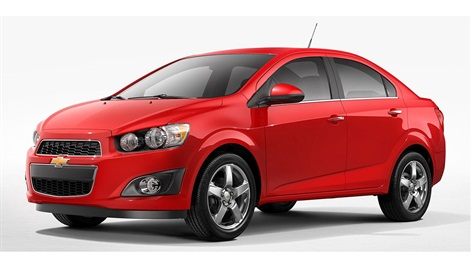 2015 Chevrolet Sonic via GM.