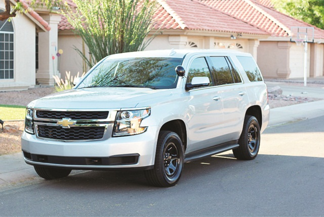 Photo of 2015-MY Chevrolet Tahoe by A.J. George.