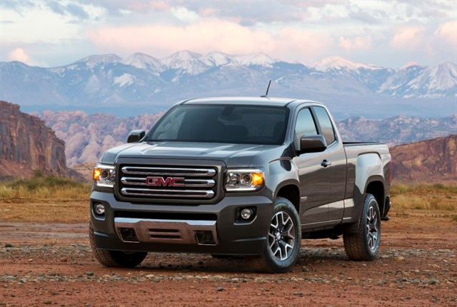 Pictured is the GMC Canyon. Photo courtesy of GM