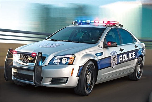 Chevy New Police Car