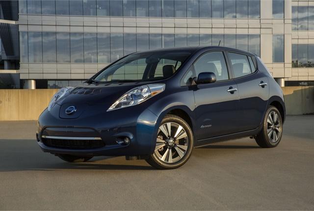 Photo of 2016 Leaf courtesy of Nissan