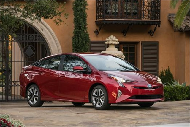Photo of Toyota Prius courtesy of Toyota.