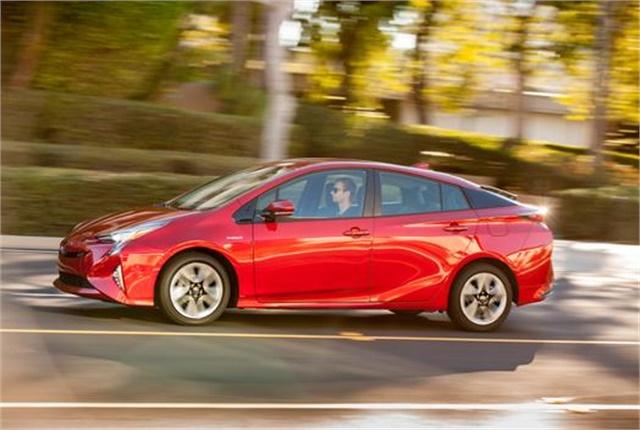 Photo of Toyota Prius courtesy of Toyota.