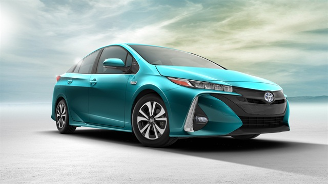 The 2017 Toyota Prius Prime, photo courtesy of the automaker.