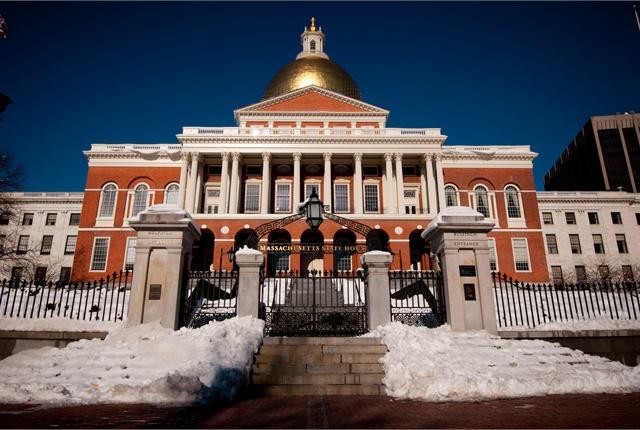 Massachusetts State House. Photo via flickr/erictchin