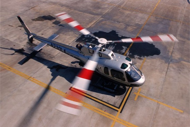 Photo of AStar 350 courtesy of Airbus Helicopters.