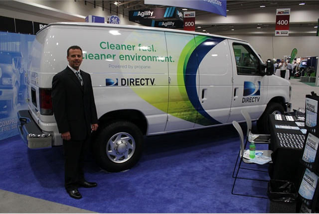 Brandon Morris, director of fleet services for DIRECTV, will be interviewed about the fleet's use of propane autogas on Feb. 26, 2014.