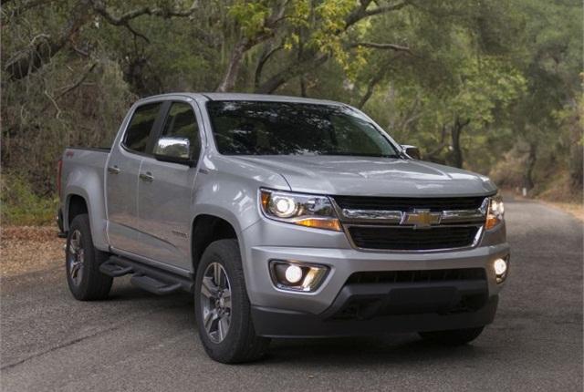 Photo of 2016 Chevrolet Colorado diesel courtesy of GM.