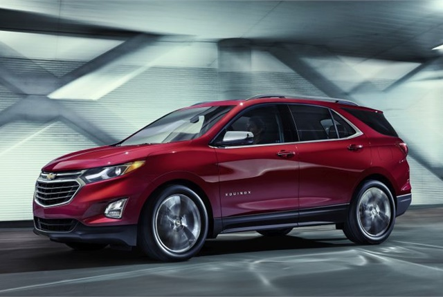 Photo of 2018 Chevrolet Equinox courtesy of GM.