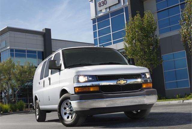 Photo of 2014 Chevrolet Express van courtesy of GM.