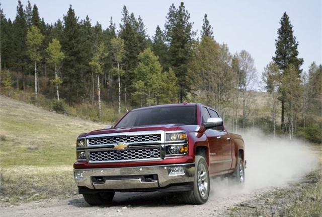 Photo of 2015 Chevrolet Silverado LTZ courtesy of GM.