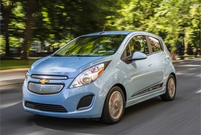 Photo of Chevrolet Spark EV courtesy of GM.