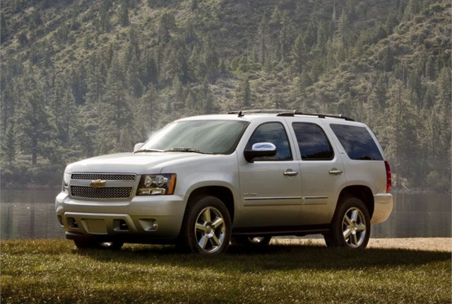 Photo of 2013 Chevrolet Tahoe courtesy of GM.