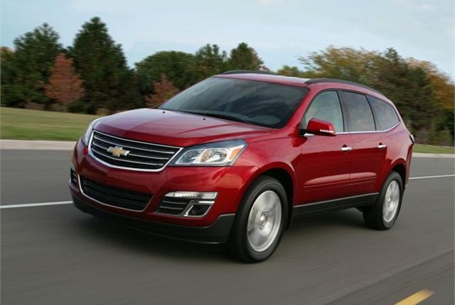 Photo of 2013 Chevrolet Traverse courtesy of GM.