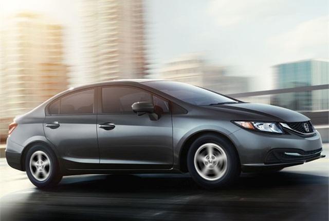 Photo of 2015 Civic Natural Gas courtesy of Honda.