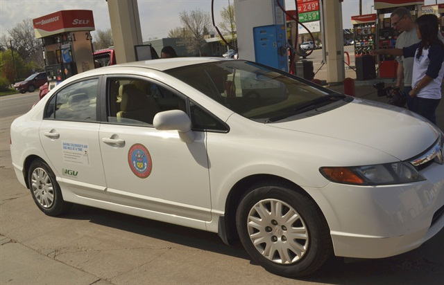 The State of Colorado has some CNG vehicles in its fleet, which are fueled at private stations.