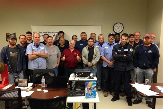 Pictured are students attending the City of Columbus/MEMA Ohio training session. Photo courtesy of City of Columbus