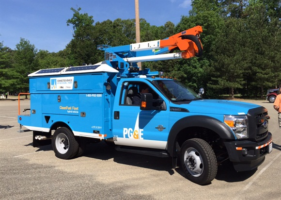 PG&E will begin introducing this next generation of idle-management technology on its trucks next year, while other technologies will go into fleet earlier.