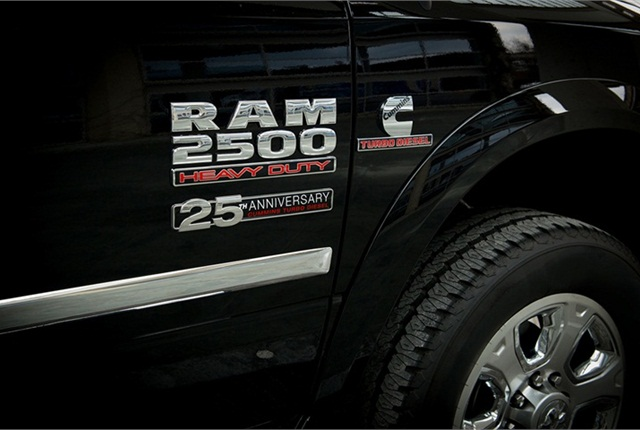 Cummins Turbo Diesel >> Cummins Releases 25th Anniversary Package For Turbo Diesel Rams