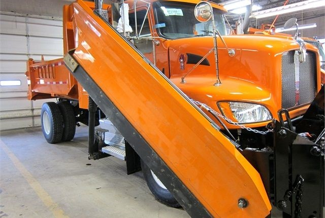 Dane County's compressed natural gas (CNG) snowplow. Photo courtesy of Dane County