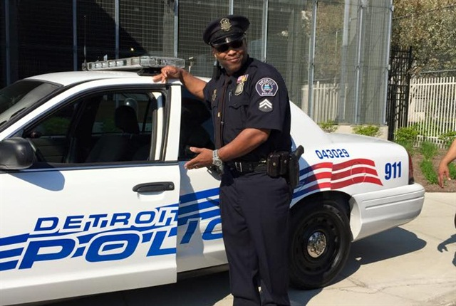 Photo via facebook/Detroit Police Department.
