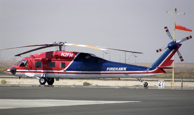 San Diego City Council approved the purchase of a $19.8 million Firehawk for the city's fire-rescue department. Photo via Akradecki/Wikimedia