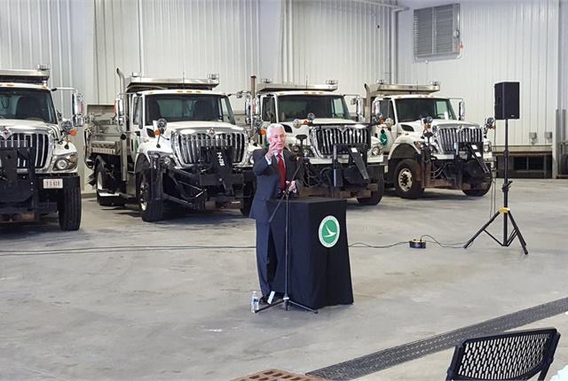 Ohio Dot Opens Fleet Garage Top News Operations Top