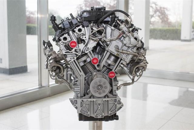Photo of 2017 3.5L EcoBoost V-6 courtesy of Ford.