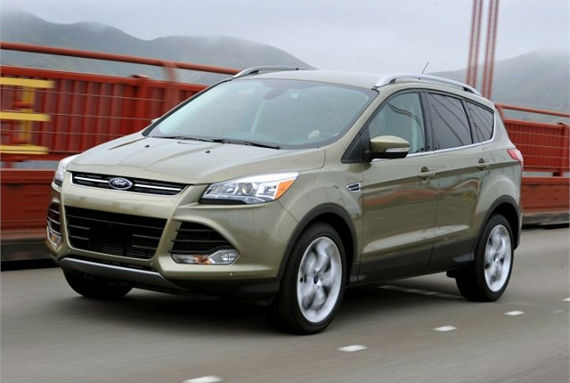 Photo of 2013 Escape courtesy of Ford.