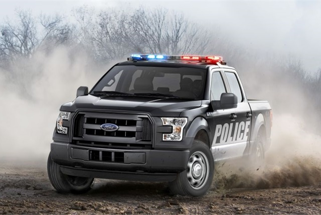 Photo of the 2016 F-150 SSV courtesy of Ford.
