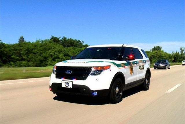 Photo of Miami-Dade PD Ford P.I. Utility courtesy of the agency.