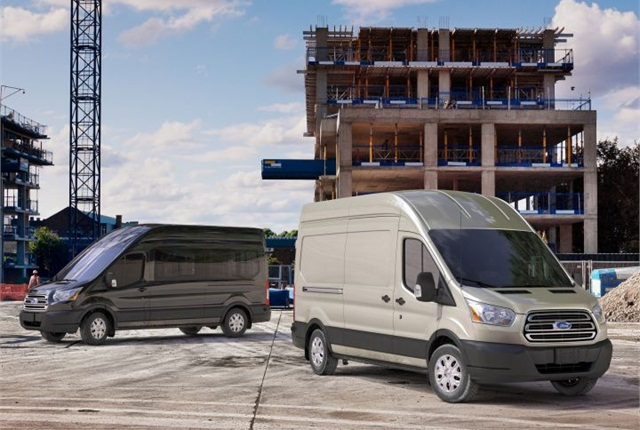 Photo of Transit vans courtesy of Ford.
