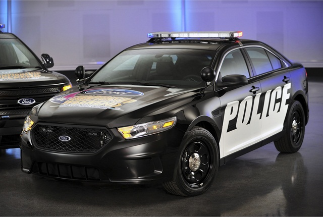 Photo of Ford Police Interceptor courtesy of Ford Motor Co.