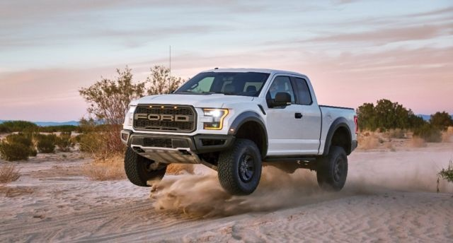 Ford F-150 Raptor (Photo courtesy of Ford Motor Co.)