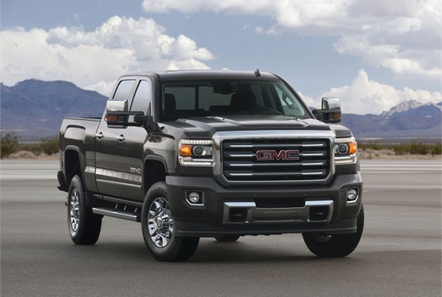 Photo of GMC Sierra HD AllTerrain crew cab courtesy of GM.