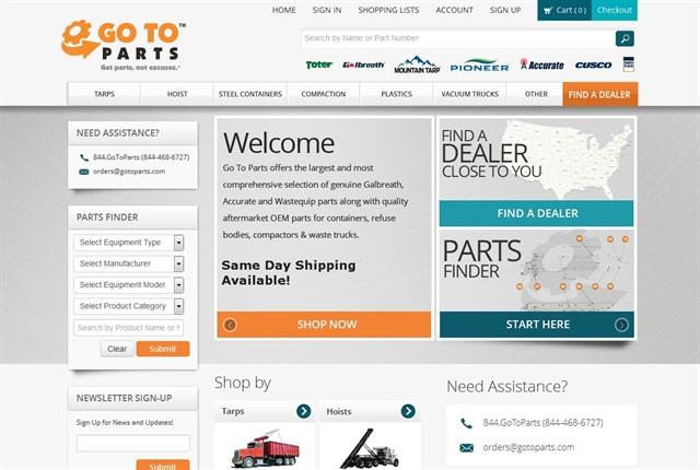 Screencapture of gotoparts.com