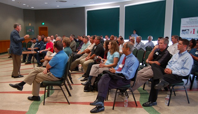 Approximately 90 attendees showed up for the MEMA event.