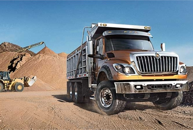 The HV Series is available in a variety of specifications: Regular Cab, Extended Cab, and Crew Cab. (Image courtesy of International Trucks).