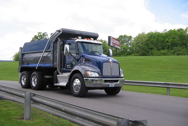 Kenworth T370 dump truck. Photo courtesy of Kenworth