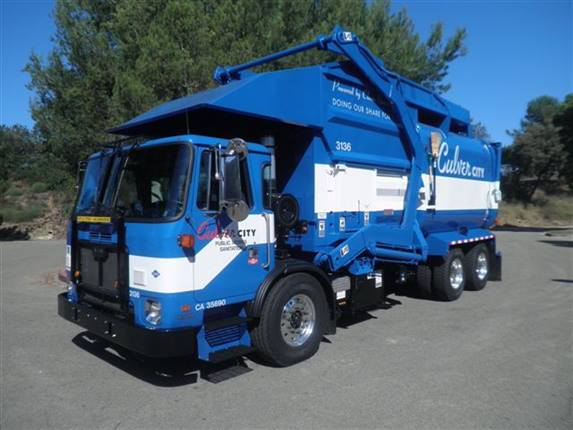 Carmenita Truck Center >> Culver City Receives 2nd Cycle of CNG Refuse Trucks - News - Government Fleet