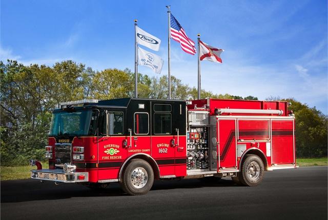 Photo courtesy of Pierce Manufacturing